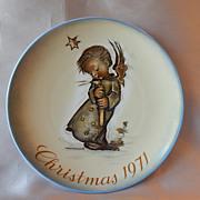 1971 Sister Berta Hummel Schmid Christmas Plate Schmid