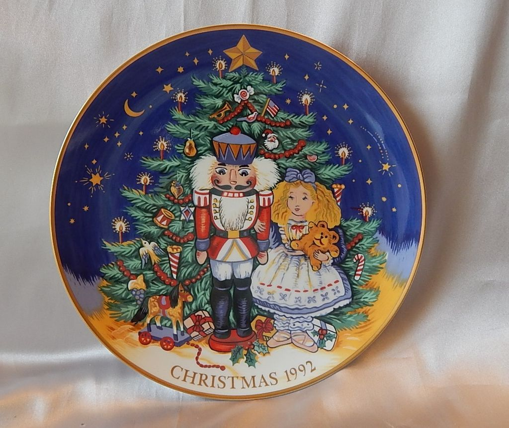 Fitz and Floyd Christmas Plate The Magic of the Nutcracker