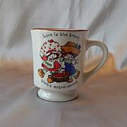 Ceramic Strawberry Shortcake Coffee Mug