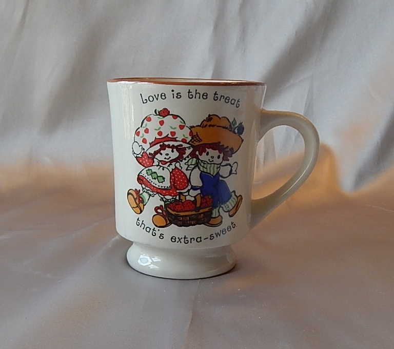 Ceramic Strawberry Shortcake Coffee Mug