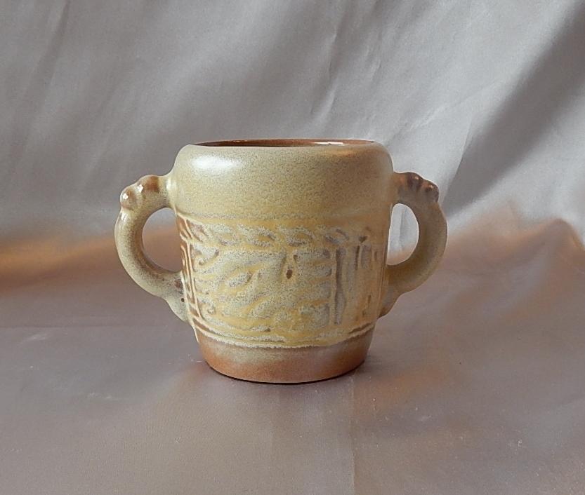 Frankoma Pottery Mayan Aztec Creamer