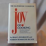 1982 Joy Of Cooking Cookbook