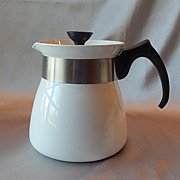 Corning Ware Cookmates Just White Teapot