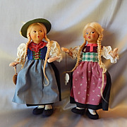 Two Baitz Dolls Made in Austria