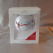 Hallmark Keepsake So Nice Being On Ice Ornament
