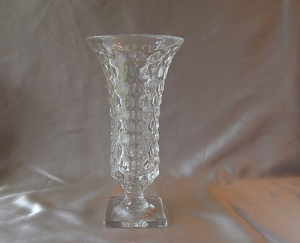 Fostoria Glass American Crystal Vase
