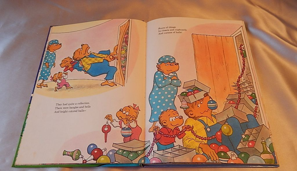 The Berenstain Bears Christmas Tree 1980 SOLD on Ruby Lane