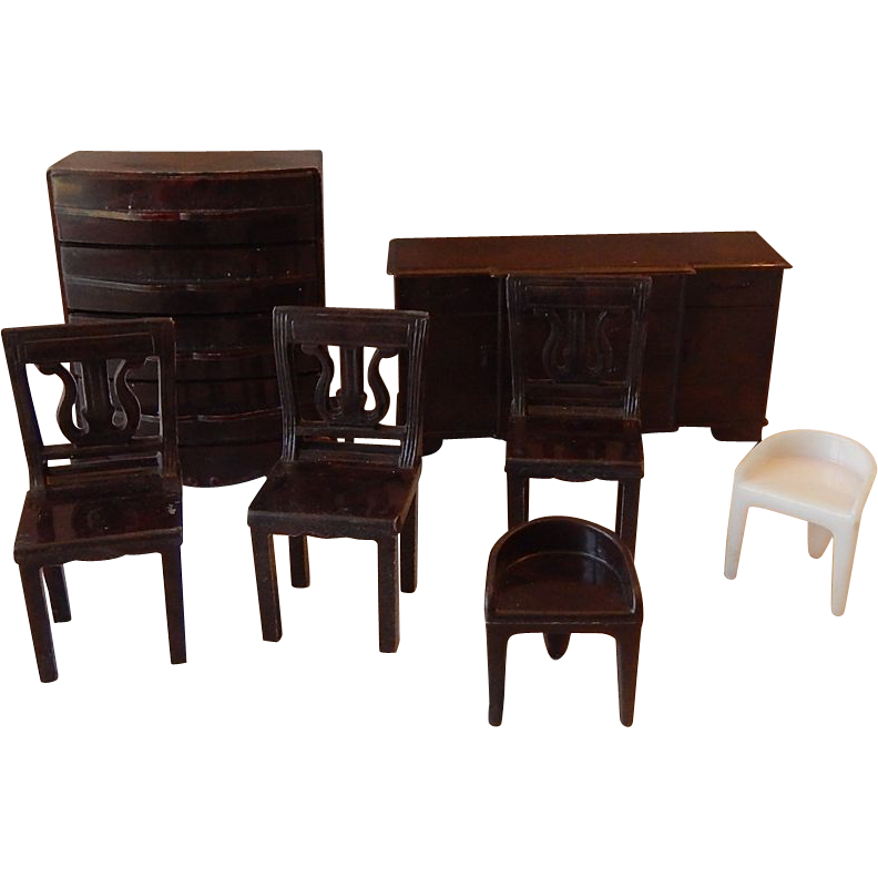 Plasco Toy Doll House Furniture