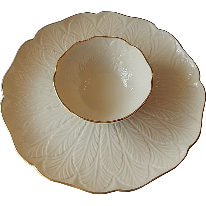 Lenox Greenfield Gourmet Chip and Dip Platter