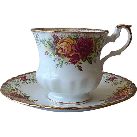 Rosina Porcelain Tea Cup and Saucer
