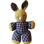 Stuffed Vintage Easter Bunny Rabbit