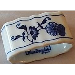 Blue Danube Porcelain Napkin Ring