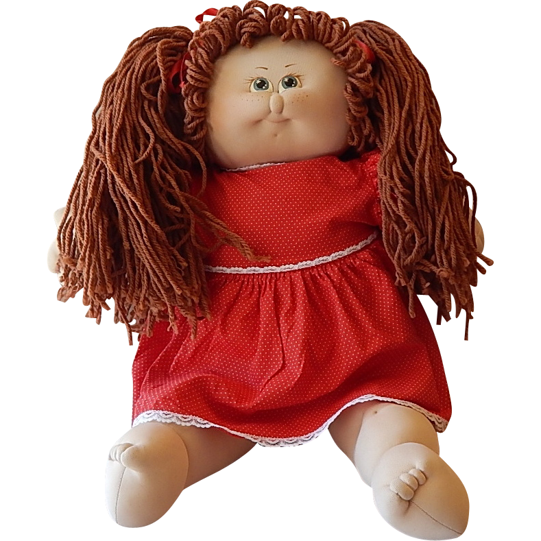 Wilimina Soft Sculpture 1984 Doll