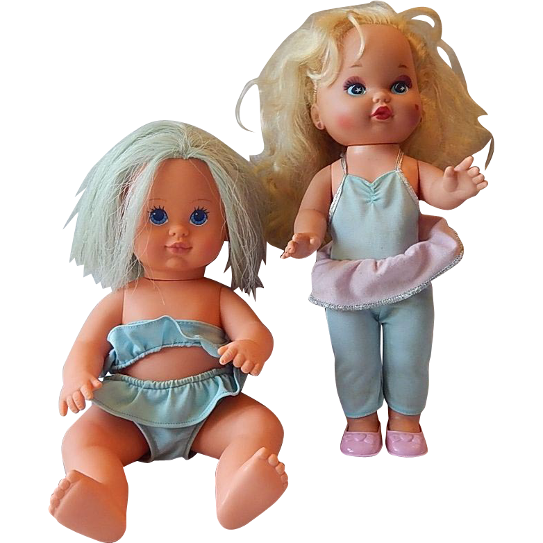 Tonka Bathing Beauty and Mattel Lil Miss Doll
