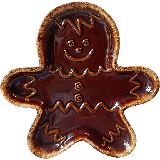 Hull Pottery Gingerbread Man