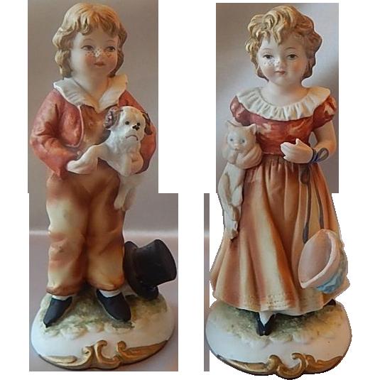 Two Lefton Little Friends Figurine