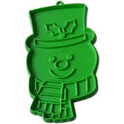 Hallmark Green Snowman Cookie Cutter