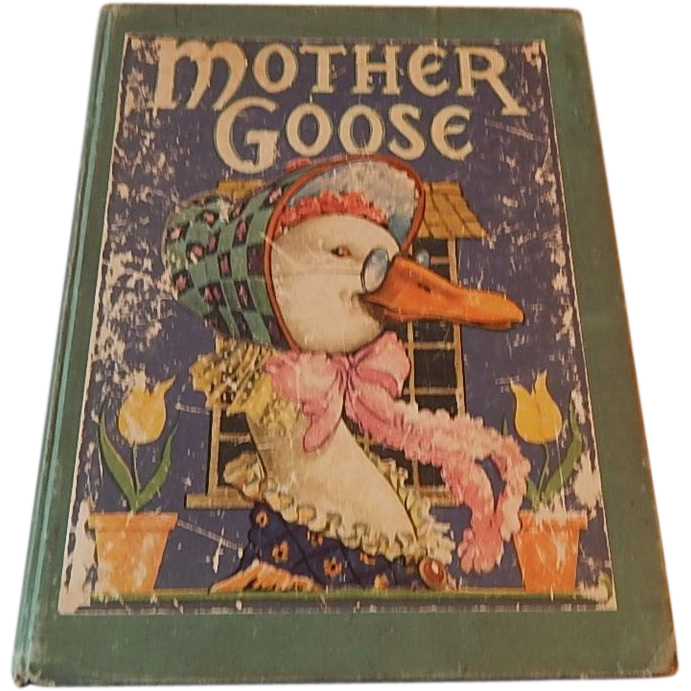 Mother Goose Children's Book 1938