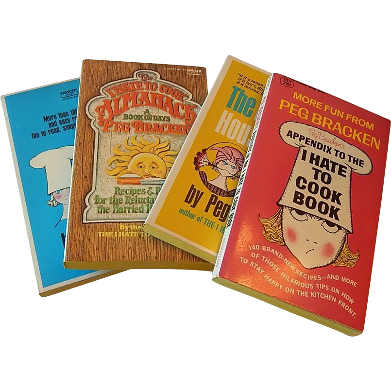 Four Peg Bracken  Paperback Books