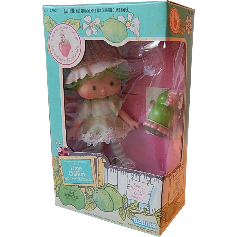 Kenner Strawberry Shortcake Lime Chiffon Doll from ...
