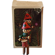 1981 Hallmark Clothespin Drummer Boy Ornament