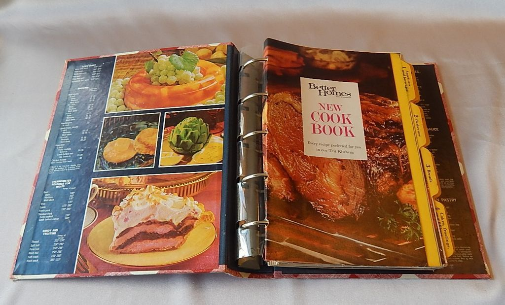Better Homes And Garden New Cookbook 1968 From Colemanscollectibles On Ruby Lane