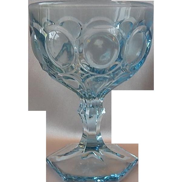 Fostoria Blue Moonstone Champagne / Sherbet