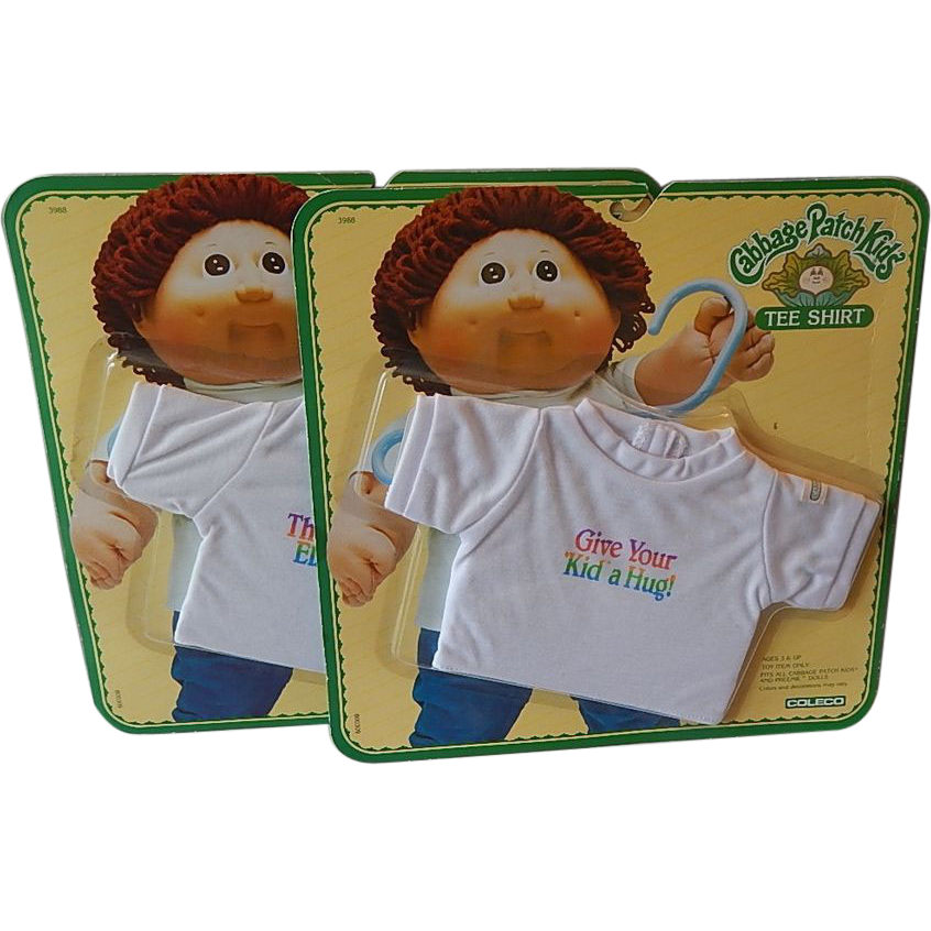 Two Cabbage Patch Kids Tee Shirts
