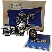 Hallmark Keepsake Ornament Harley Davidson Motorcycle