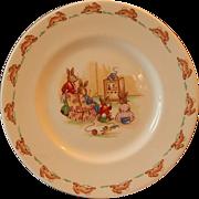 Royal Doulton Bunnykins Child's Plate