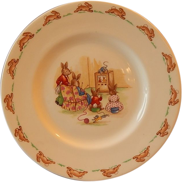 Royal Doulton Bunnykins Child's Plate