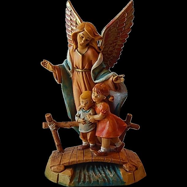 Fontanini Depose Italy Guardian Angel Of Children