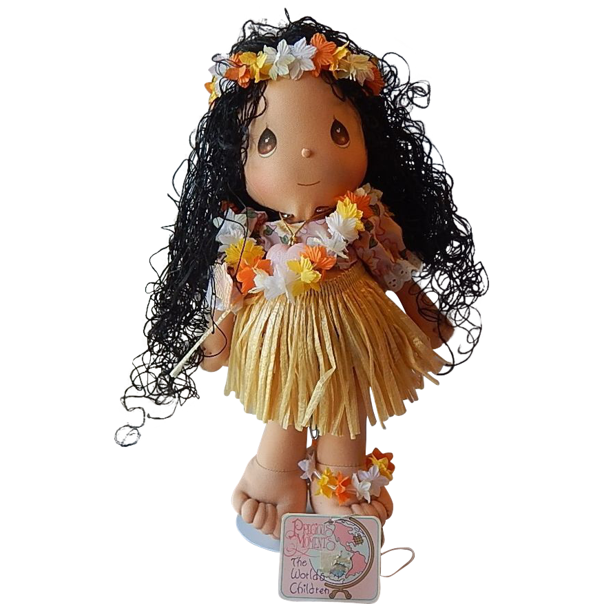 Precious Moments Hawaiian Lulu Doll