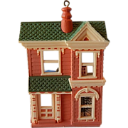 Hallmark Victorian Doll House Ornament 1984