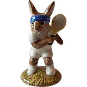 Royal Doulton Tennis Player Ace Bunnykin Figurine