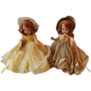 Two Nancy Ann Storybook Dolls