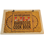 LBJ Barbecue Cookbook by Walter Jetton