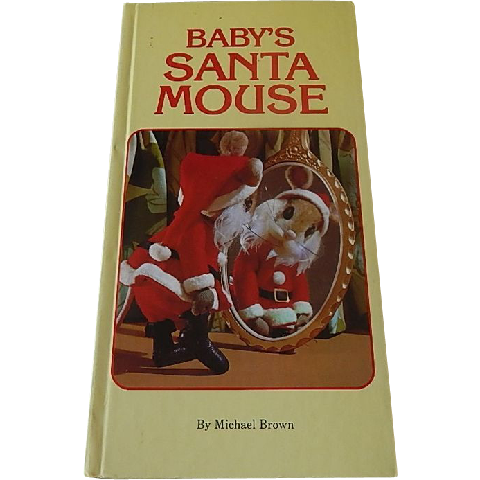 Baby's Santa Mouse by Michael Brown