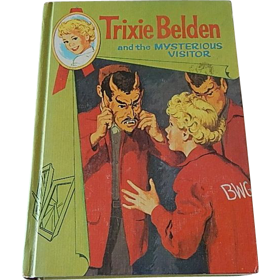 Trixie Belden and the Mysterious Visitor