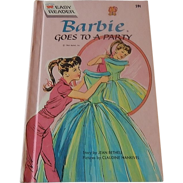Barbie Goes To A Party By Jean Bethell