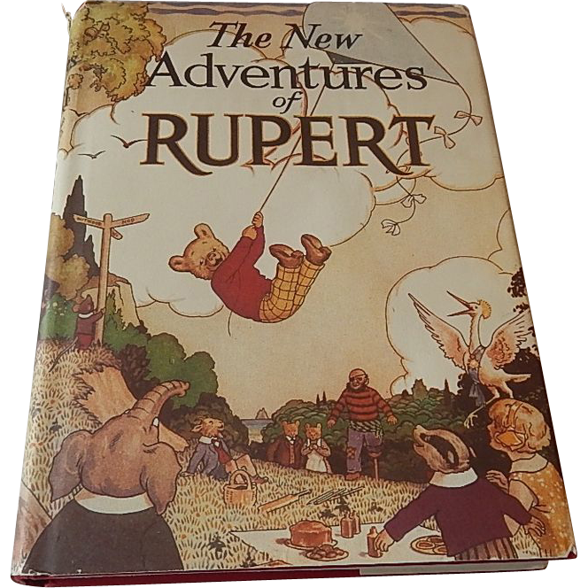 The New Adventures of Rupert Book 1985
