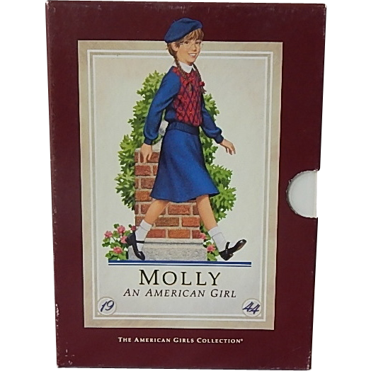 An American Girl Molly Books Box Set