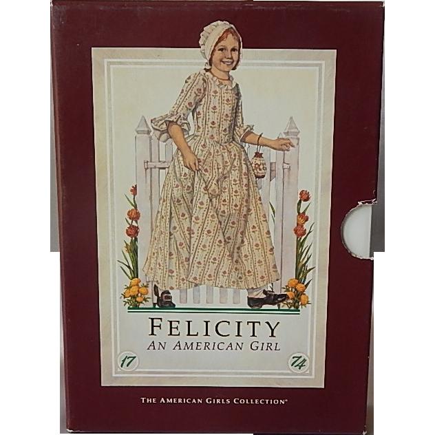 An American Girl Felicity Six Books Book Set