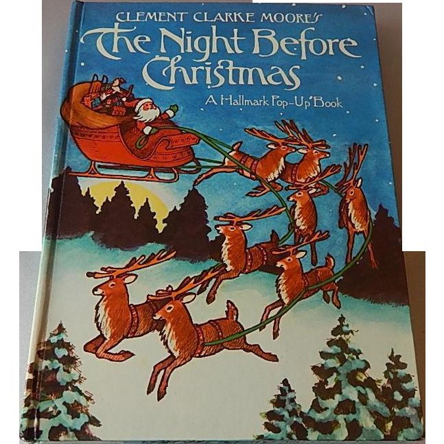 Hallmark The Night Before Christmas Pop-Up Book