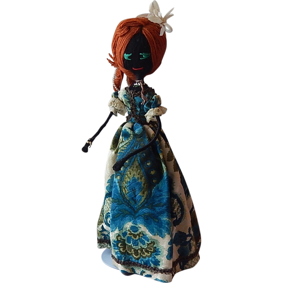 Vintage Handcrafted Sting Yarn Doll