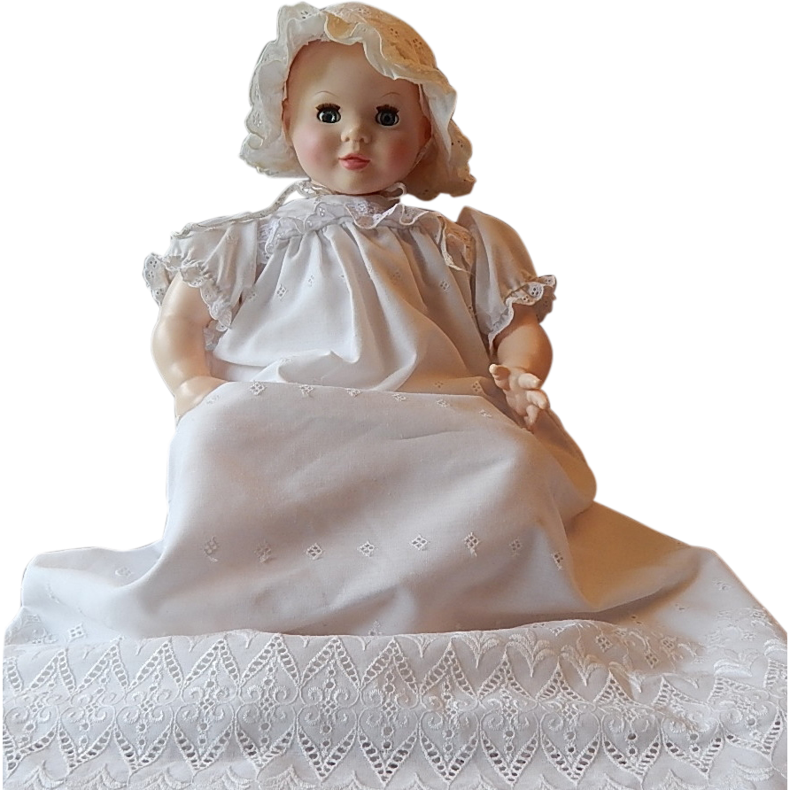 Suzanna Gibson Baby Doll in Christening Gown