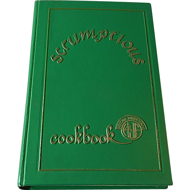 Houston Junior Scrumptious Cookbook
