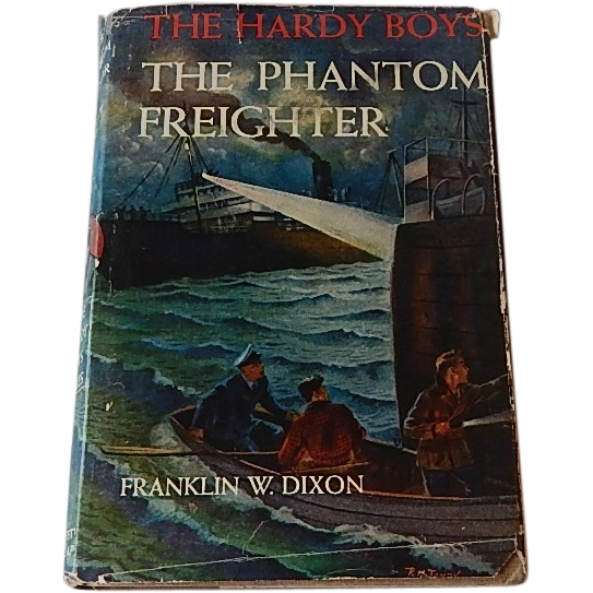 The Hardy Boys The Phantom Freighter