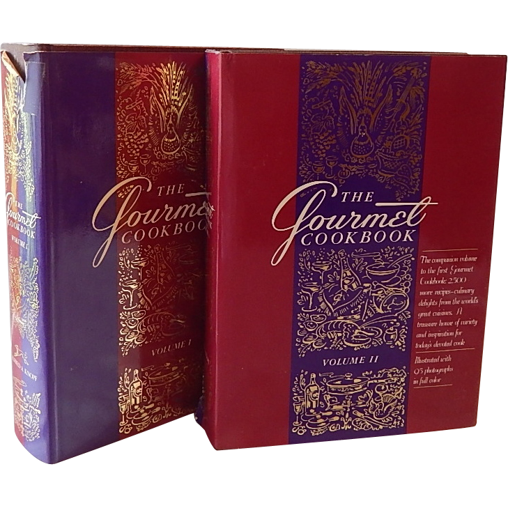 The Gourmet Cookbooks Volume One and Two