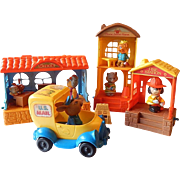Mattel Toys Hub Bubs  Happy Hollow